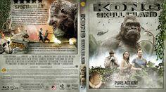 Kong Skull Island Blu-ray Custom Cover