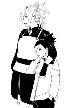 Temari and Shikadai Nara #Naruto