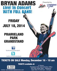 Bryan headlines Prairieland Park in Saskatoon  July 18th