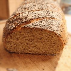 Easy Bread Recipes, Gluten Free Recipes, Low Carb Recipes, Healthy Recipes, Low Carb Bread, Low Carb Keto, Foods Without Sugar, Wheat Free Bread, Lchf