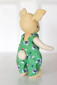 Maisy Felt Rabbit Ready Made by MayBlossomStore on Etsy