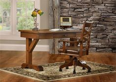 Amish Shakespeare Writing Desk This would be a great accent in my office