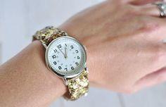 Glitter Watch Designer Knock Off