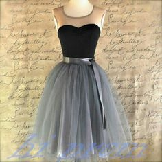 Gray Homecoming Dress,Short Prom Dresses,Tulle Homecoming Gowns,Grey Prom Gown,Cute Cocktail Dress,Black Homecoming Dresses 2015 For Teens