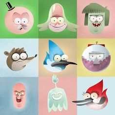 Regular Show Created by Dave Mottram