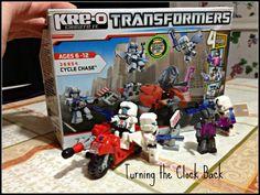 Kre o Transformers Make Christmas Day Fun! #HasbroKREO #spon