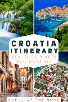 Travel Croatia - A Beautiful Mediterranean Vacation - croatia itinerary, croatia honeymoon itinerary, plitvice to split, plitvice lakes winter, plitvice - Best Places In Europe, Cool Places To Visit, Beautiful Places To Visit, Places To Travel, Places To Go, Best Cities, Backpacking Europe, Europe Travel Guide, Europe Destinations