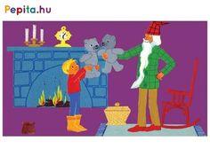 A testvéri szeretet meséje, Marék Veronika tollából. Marci és Jutka karácsonyi ajándékot kap, Marci egy ezüst színű mackót, míg Jutka egy kiskutyát. Igen ám, de akkor kezdődnek a bonyodalmak, amikor Jutka kitalálja, hogy ő is egy ezüstmackót szeretne, és a testvérek nagyon összevesznek. Marci végül elindul a Télapóhoz, hogy szerezzen Jutkának is egy macit. Írta: Marék Veronika. Rajzolta: Marék Veronika. A diafilm kódja: N0143 Family Guy, Marvel, Fictional Characters, Products, Jute, Fantasy Characters, Gadget, Griffins
