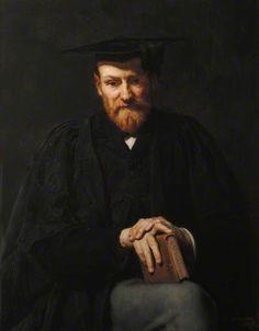 """Robinson Ellis (1834–1913), Professor of Latin"", 1889, by George Percy Jacomb-Hood (British, 1857-1929)."