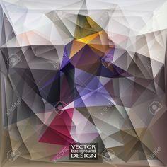 Plantillas Del Diseño Multicolor. Fondo Geométrico Triangular Abstracta Moderna Del Vector. Ilustraciones Vectoriales, Clip Art Vectorizado Libre De Derechos. Pic 34038507.