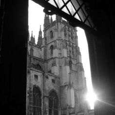 Love the Canterbury Cathedral... I spent a semester living in Canterbury & would visit it weekly!