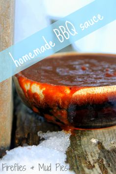 Homemade BBQ Sauce that would be delicious with PERDUE® SIMPLY SMART® Breaded Chicken Breast Tenders, Gluten Free - just sub gluten free tamari for the soy sauce