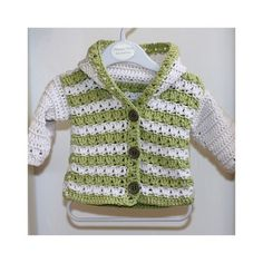 I am sure your little one will love this cardigan and will feel very comfy wearing it. It is easy and quickly to make it, as you have to work with worsted weight yarn.
