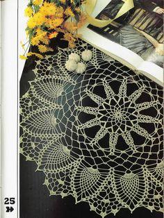 Carpetas - Flavia Luggren - Álbuns da web do Picasa... Pineapple Star with diagram and written pattern!