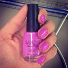 STATION nail lacquer in Love at First Lavender