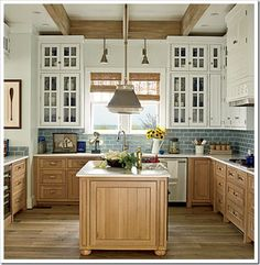 navy blue kitchen island | ... kitchen banquette seating is covered with waterproof indoor/outdoor