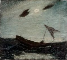 Albert Pinkham Ryder - Moonlight (1887)