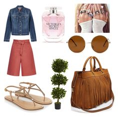 """""""Untitled #550"""" by giselaturca on Polyvore featuring 7 For All Mankind, Accessorize, Milly, Isabel Marant, Nearly Natural, Forever 21, Victoria's Secret, women's clothing, women and female"""