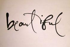 handwriting tattoo fonts -
