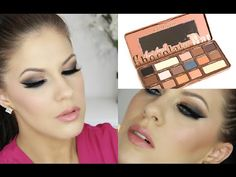 Brown Smokey Eye | Too Faced Semi Sweet Chocolate Bar Palette - YouTube