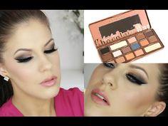 Brown Smokey Eye | Too Faced Semi Sweet Chocolate Bar Palette - YouTube