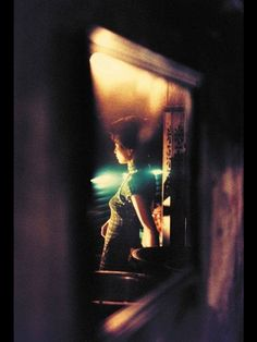 In The Mood For Love: Wong Kar-Wai.  Cinematography Christopher Doyle.