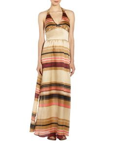 Halter Maxi Dress by Jenny Han at Last Call by Neiman Marcus.