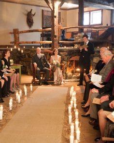 The Ceremony design by Petals Floral Design VT.
