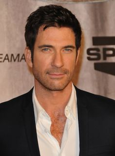 dylan mcdermott - I met and had my picture taken with him and his brother at a Dallas Stars game... He really is Super nice and very handsome!! Wish I could find the pic