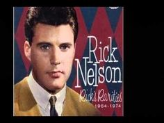 ▶ Rick Nelson string along - YouTube I remember well when this song came out!