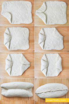 Jak przygotować owalny kształt chleba