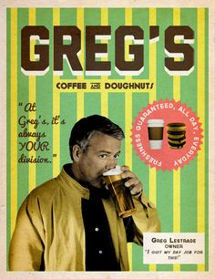 LOVE IT!!! | Greg's Coffee & Doughnuts | » SherlockBBCGraphics.tumblr.com