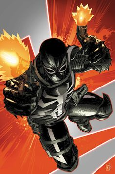 Venom Vol 2 #27 :: Agent Venom Cover by Patrick Zircher and Marte Gracia