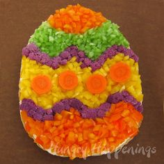 Hungry Happenings: This Easter have fun decorating an Easter Egg Veggie Pizza