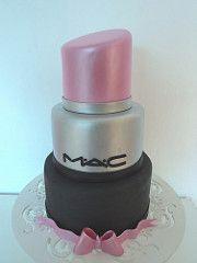 DISPONVEL PARA LOCAO Bolo Baton_MAC (Mel Bolos Fake) Tags: aniversario cake mac…