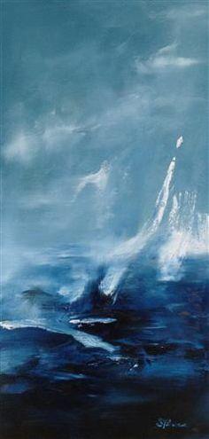 SARAH PARSONS  Blue, 2012