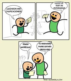 Test de paternidad. #humor #risa #graciosas #chistosas #divertidas