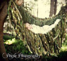 Green Vines Tree Prop Fringe Baby Photo Prop Blanket by BabyBirdz, $95.00