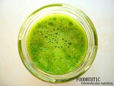 chlorophyl juice