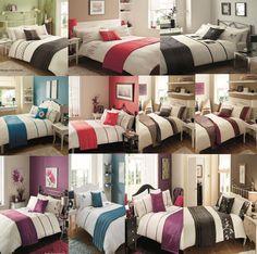 Luxury 5 Pcs Bed in a Bag Duvet/Quilt Cover Set Pillow Cass Cushion Runner Set  #GC #5PcsBedInaBag
