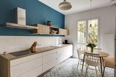 Stylish Kitchen Cabinet Design Ideas You'd Wish to Own Kitchen Cabinet Design, Kitchen Cabinets, Kitchen Wood, Kitchen White, Kitchen Furniture, Swedish Decor, Scandinavian Kitchen, Kitchenette, Kitchen Flooring