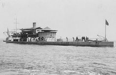 The USS Nahant was a Passaic-class ironclad monitor of the United States Navy that saw service in the American Civil War and the Spanish–American War. The Spanish American War, American Civil War, Us Navy, Uss Monitor, Confederate States Of America, Military History, Naval History, Old Images, United States Navy