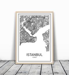 City Maps, Map Print, Map Art, Istanbul Map, Turkey Map Print, Map Art Print, Map of Istanbul, Turkey Map, Black White Map, Map Wall Art, Modern City Art, Scandinavian Art, Minimalist Map Art, 8x10. MotivatedWallArt offers prints on a variety of themes, which gives a modern look to your home. All designs are printed on 250 GSM quality card stock, and mailed in cardboard mailer envelope. The size is 8 x 10 inch and printed to the edge. Please note that frame is not included.