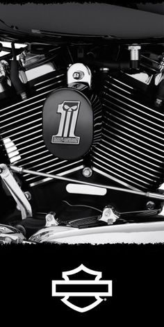 The look complements other Dark Custom collection accessories, or is a perfect stand-alone addition to a completely blacked-out ride. | Harley-Davidson Dark Custom Logo Horn Cover