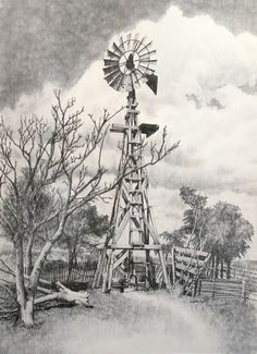 """""""The Windmill - The Symbol of the Plains"""""""