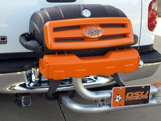 Custom tailgate grill #UltimateTailgate #Fanatics Replace OSU with the tiger paw and it's perfect!
