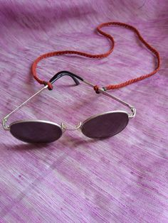 HeMeRa sunglasses and glasses neck cord micro by HeCateAccessories