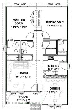 Architecture House Floor Plans small house plans under 800 sq ft | 800 sq ft floor plans