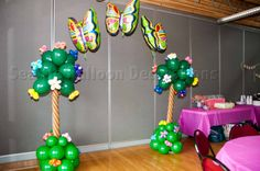 New post balloon decoration ideas for 1st birthday party simple