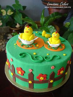 Easter Cake by lovesome cakes, via Flickr